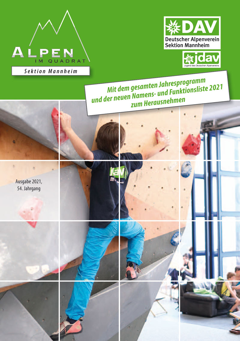 Cover Alpen im Quadrat 2021